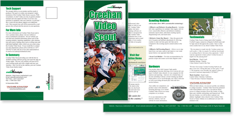 Creehan Video Scout Print Brochure