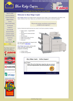 Link to Blue Ridge Copier website
