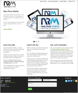 Link to NRV Mobile Website