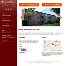 Link to Roanoke Street Apartments website